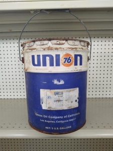 5-Gallon Bucket Vintage Union 76