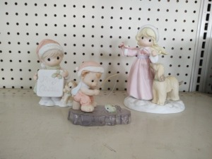 (3) Precious Moments Collectible Figurines