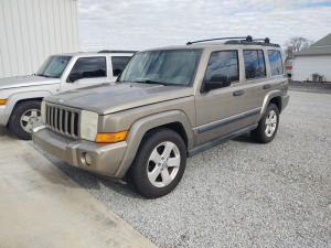 2006 JEEP COMMANDER; VIN#1J8HH48N46C130091; 146,483 MILES.  See video below.
