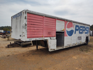 PEPSI BEVERAGE SEMI TRAILER;  BOS ONLY