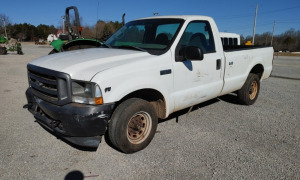 2002 FORD F-250 XL SUPER DUTY TRITON V8; VIN# 1FTNF20L32ED65322