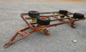 HEAVY DUTY STEEL CART