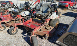 "EXMARK 60"" CUT E SERIES ZERO TURN MOWER; SERIAL # 315665067"