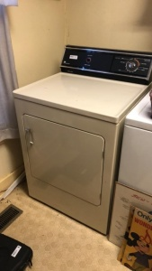 White Westinghouse Dryer