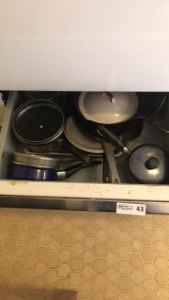 Assortment of cookware
