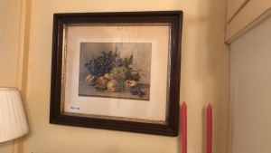 Framed Prints Of Fruit & Covered Bridge