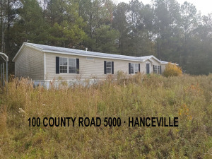 DOUBLE-WIDE MANUFACTURED HOME ON 0.91 ACRE± LOT