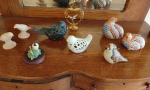 Collection Of Bird Figurines