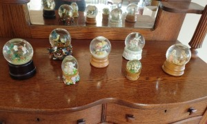 Collection Of Snow Globes