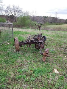 Old Turning Plow
