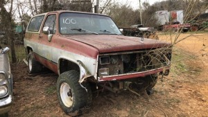 Chevy Blazer, Diesel 6.2L, Bill Of Sale Only; Parts Vehicle.