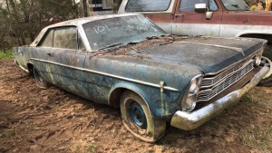 1966 Ford Galaxie 2-Door; VIN 6D66X1588875