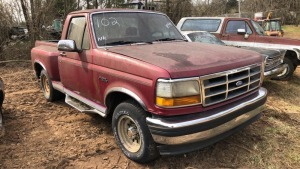 1992 Ford Step Side Pick Up.  Bill Of Sale Only, Parts Vehicle; VIN 1FTCF15NXNKB89595