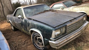Chevy El Camino; PARTIAL VIN 44756; Bill Of Sale Only, Parts Vehicle