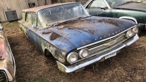 1960 Chevy Brookwood; VIN 01235J152677