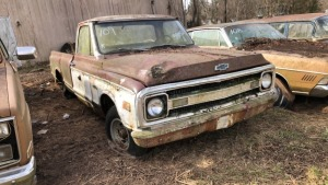 1969 Chevy C-10 Pick Up; VIN CS149A828577
