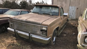 1986 Chevy 1500 High Sierra Pick Up; VIN 1GTEC14H3GF730298
