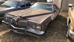 Pontiac Grand Prix LJ; PARTIAL VIN 3226819; Bill Of Sale Only, Parts Vehicle