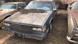 1987 Chevy Cadillac; VIN 1G6CD5180H4316847
