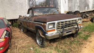 1979 Ford F-250 Custom Pick Up; VIN F26SUEG2587