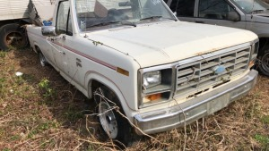 1983 Ford F-100 Pick Up; VIN# 1FTCF10F2DNA61686; Bill Of Sale Only