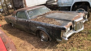 1969 Ford Lincoln Mark III; VIN# SR9Y89A839679