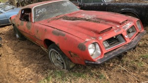 Pontiac Firebird; PARTIAL VIN# 6908; Bill Of Sale Only/Parts Vehicle