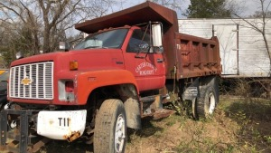1993 Chevy Dump Truck; BILL OF SALE ONLY; VIN# 1GBM7H1JXPJ102899