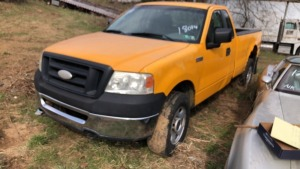 2007 Ford F-150 Pick Up; VIN# 1FTRF14W17NA18014