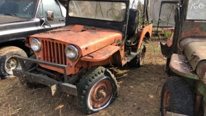 Jeep Willys.  Bill Of Sale Only