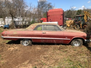 1963 Chevy Impala SS 327, all original, Good builder car.  Bill Of Sale Only; VIN 31839L23053