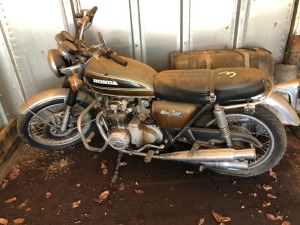 Honda 550 Motorcycle.  Bill Of Sale Only.