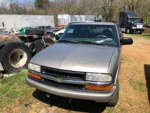 2000 Chevy  S-10 Pick Up; VIN# 1GCCS1956Y8230554