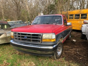 1992 Ford F-150 XLT Pick Up.  Bill Of Sale Only. VIN# 1FTDF15N3NLA84217