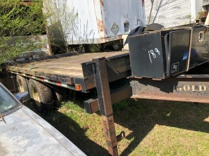 2005 Approx. 16' Pintel Hitch Trailer; VIN# 4N7DC14255S001934