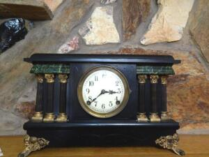 8-Day Mantel Clock by Session Clock Co.