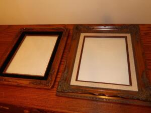 (2) Nice Wood Picture Frames