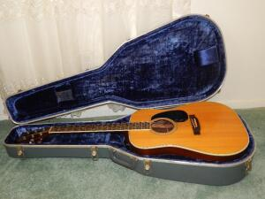 D-35 Vintage 70's Martin Guitar with case