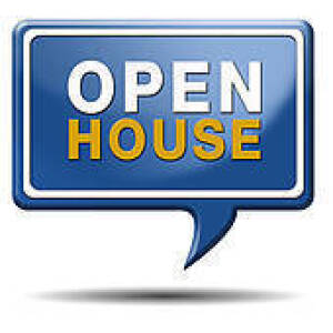 There will be an Open House on Friday, June 19th, 2015 between 11 AM - 2 PM.
