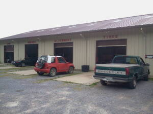 Metal Commercial Building Known As BAMA Brake & Tire