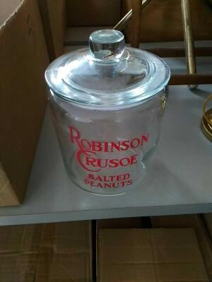 Robinson Crusoe Salted Peanut Jar (reproduction)
