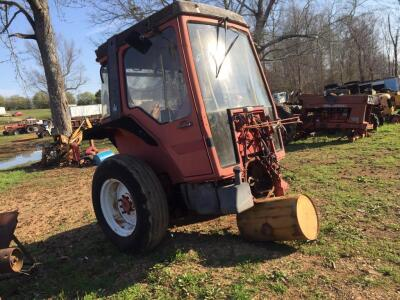 Case 885 Salvage Tractor, SN 2354