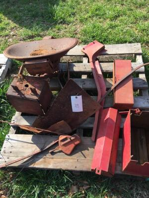 Tractor Seat, Tool Box & Miscellaneous