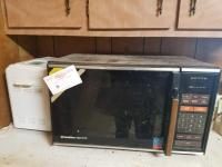 Gold Star Microwave & West Bend Bread Maker