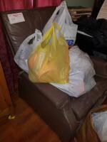 Recliner & Contents:  Easter dйcor, craft supplies & miscellaneous - 3