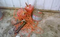 Gas Can & Extension Cord
