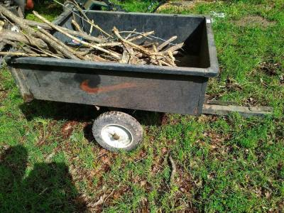Lawn Mower Dump Bed Trailer