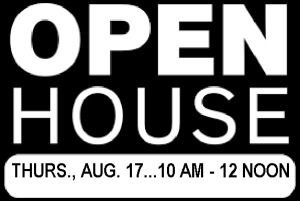 OPEN HOUSE:  Thursday, August 17th (auction day) between 10 AM - 12 Noon.  Auction location:  8511 Louis Drive in Huntsville, AL