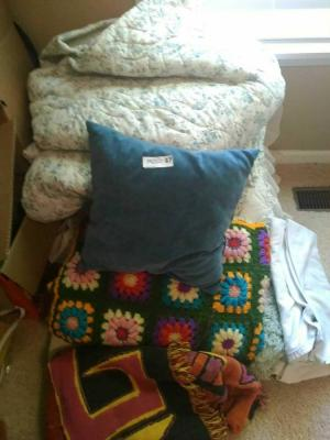 (1) Lot Of Quilts & Pillows