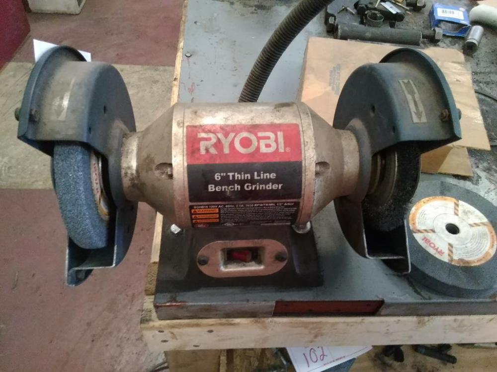Fantastic Ryobi 6 Bench Grinder Current Price 40 Gmtry Best Dining Table And Chair Ideas Images Gmtryco